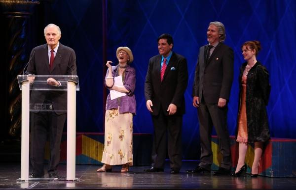 Alan Alda, Patricia Elliott, Dale Badway, Corey Brunish, Brisa Trinchero