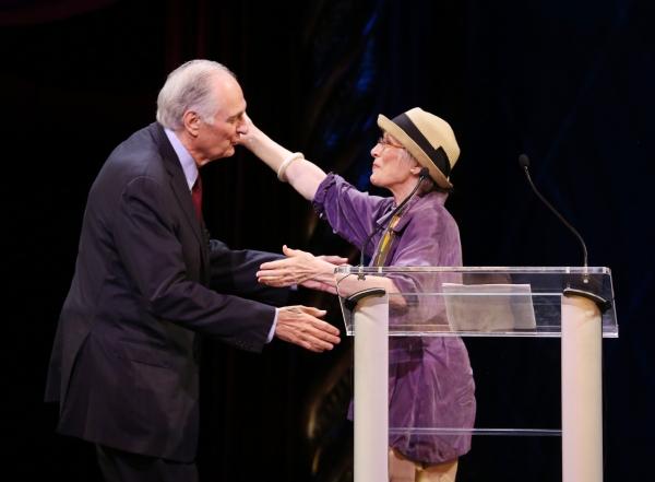 Alan Alda, Patricia Elliott