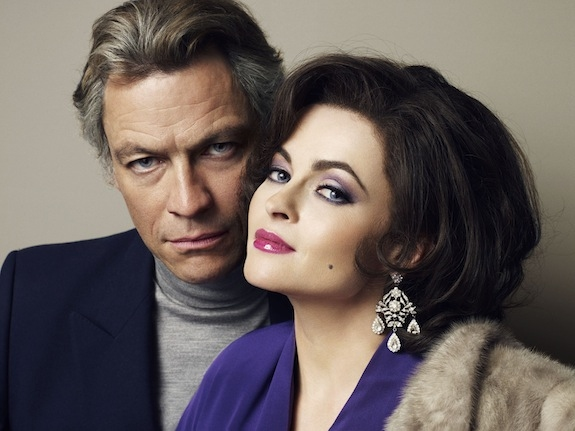 Dominic West and Helena Bonham Carter in BURTON AND TAYLOR. Photo Credit: BBC/Gustavo Papaleo