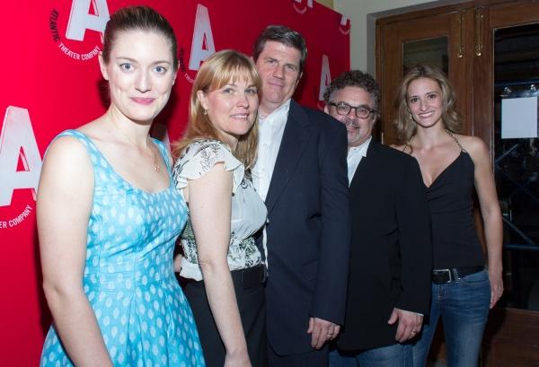 Zoe Perry, Kelly McAndrew, Rod McLachlan, Bob Krakower, Jessica Cummings Photo