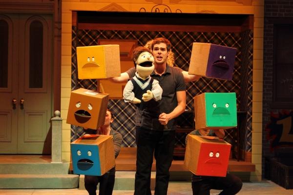 "James Oblak with ""Princeton"" and Annie Kalahurka, Brett Travis and Andrew Ian Adams"