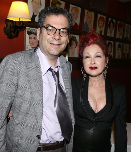 Michael Musto, Cyndi Lauper