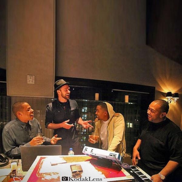 Justin Timberlake, Jay Z, Nas, Timbaland