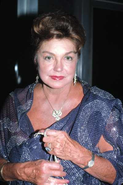 Esther Williams in Losa Angeles, California on November 1, 1985
