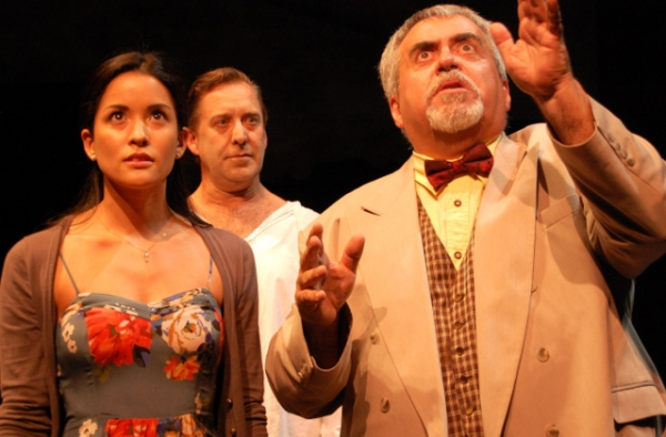 Noelle Muniz, Slake Counts and Joseph Parra in Ghosts of Hyde Park