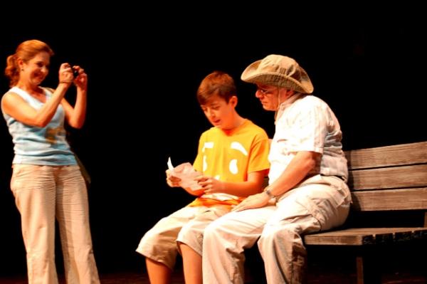 Suzy Devore, Josh Corjay, Bob Gonzalez in ''Geo-Muggled'' in TampaWorks
