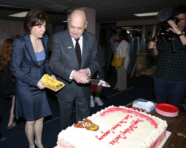 Producer Arielle Tepper Madover, Charles Strouse