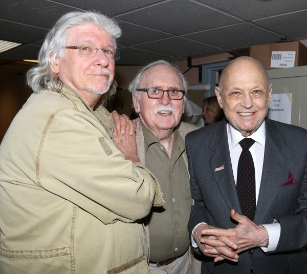 Martin Charnin, Thomas Meehan, Charles Strouse