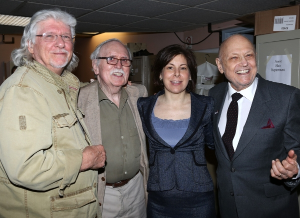 Martin Charnin, Thomas Meehan, Producer Arielle Tepper Madover, Charles Strouse