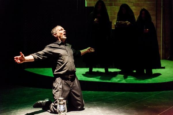 Philip Lehl as Macbeth.