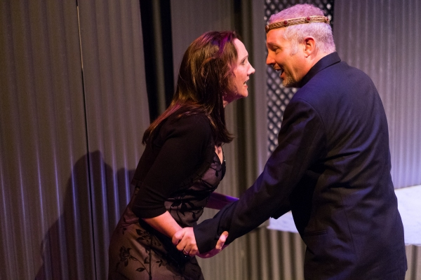 Kim Tobin as Lady Macbeth and Philip Lehl as Macbeth