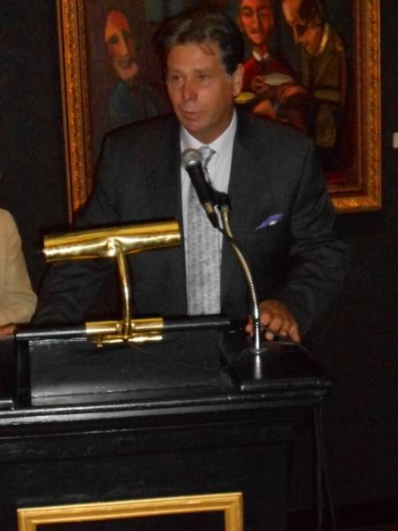 Arthur T. Kalaher speaks about Nahum Tschacbasov