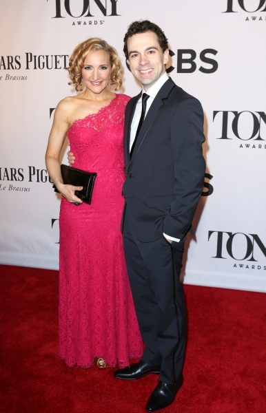 Rob McClure and Maggie McClure