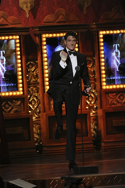 Winner Bertie Carvel during THE 67TH ANNUAL TONY AWARDS broadcast live from Radio City Music Hall.  Photo: Heather Wines/CBS