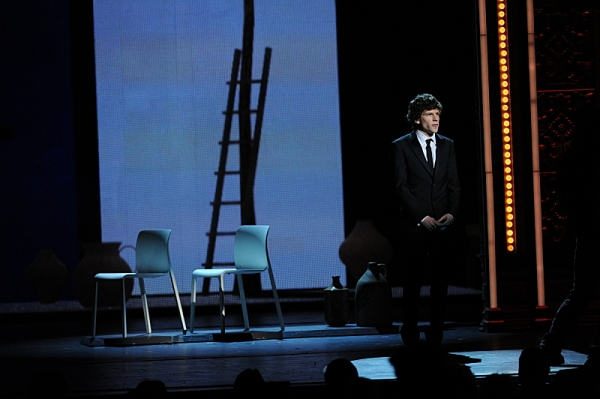 Jesse Eisenberg during THE 67TH ANNUAL TONY AWARDS broadcast live from Radio City Music Hall.  Photo: Heather Wines/CBS
