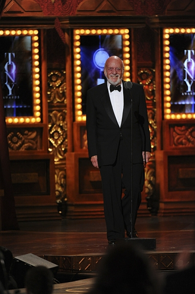 Hal Prince during THE 67TH ANNUAL TONY AWARDS broadcast live from Radio City Music Hall.  Photo: Heather Wines/CBS