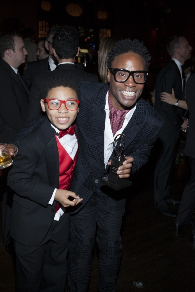 Marquise Neal and Billy Porter
