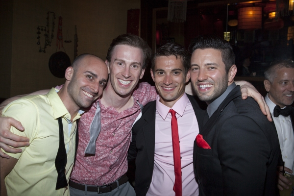 Lee Poulin, Stephen Carasco, Mo Brady and Justin Huff