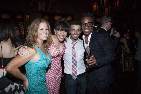 Ellyn Marie Marsh, Thomas Rectenwald and Billy Porter