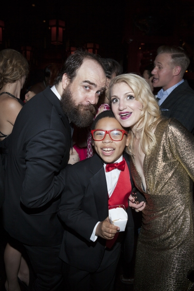 Eric Anderson, Marquise Neal and Annaleigh Ashford
