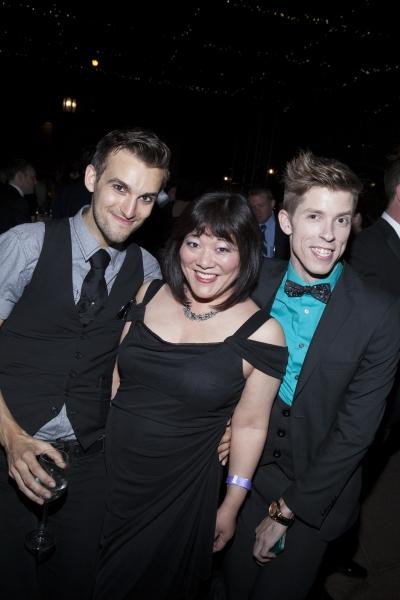 David Withrow, Ann Harada and Chad Sapp Photo