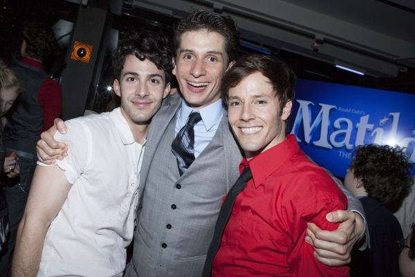 Phillip Spaeth, Colin Israel and Thayne Jasperson