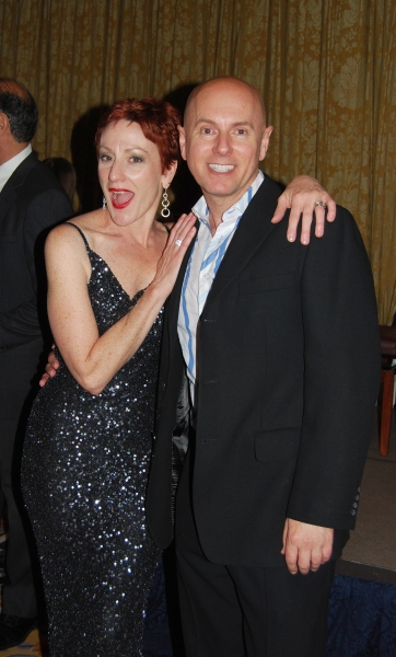 Lisa Vroman (Phantom of the Opera, Les Miserables, Aspects of Love) and Michael Willi Photo