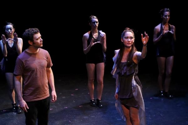 (background l-r): Yukari Osaka, Samantha Gullace, Rina Barrantes; (foreground l-r) Marek Sapieyevski and Asol Karim
