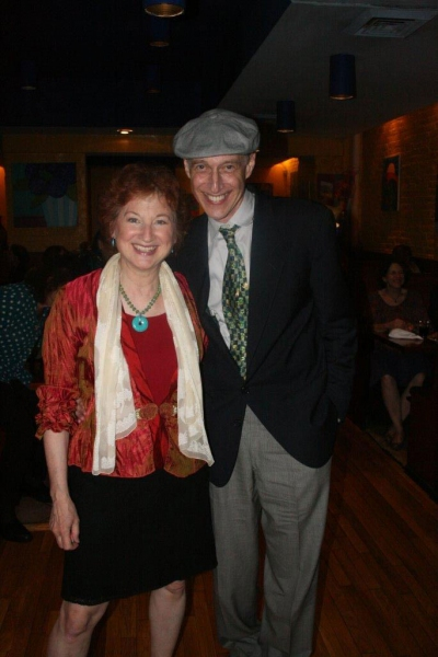 Star and co-writer, Elaine Bromka and co-writer  Eric H. Weinberger Photo
