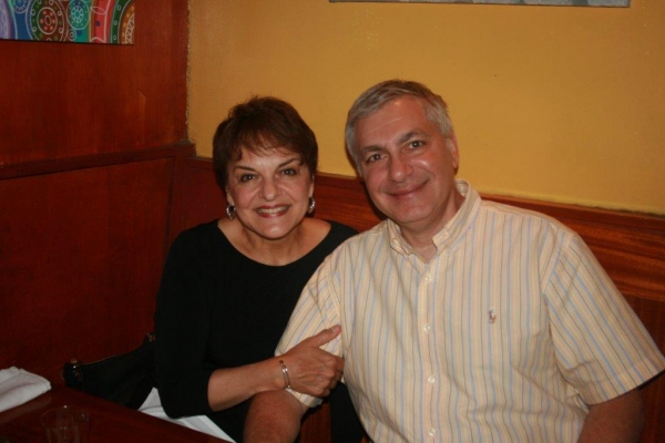 Priscilla Lopez and her husband Vincent Fanuele