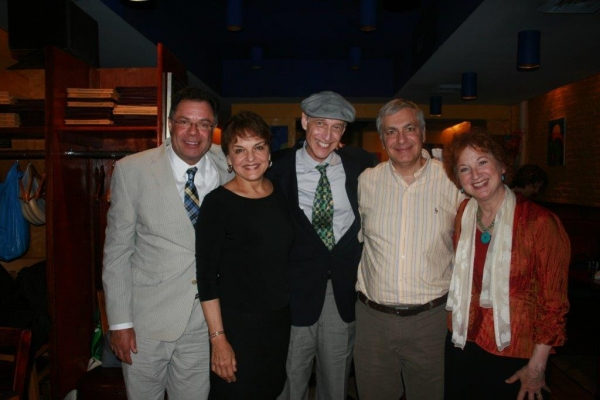 Steve Sagman, Priscilla Lopez, Eric H. Weinberger, Vincent Fanuele and Elaine Bromka