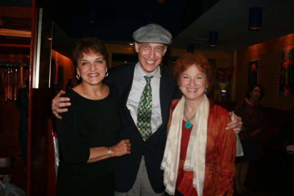 Priscilla Lopez, Eric H. Weinberger and Elaine Bromka Photo