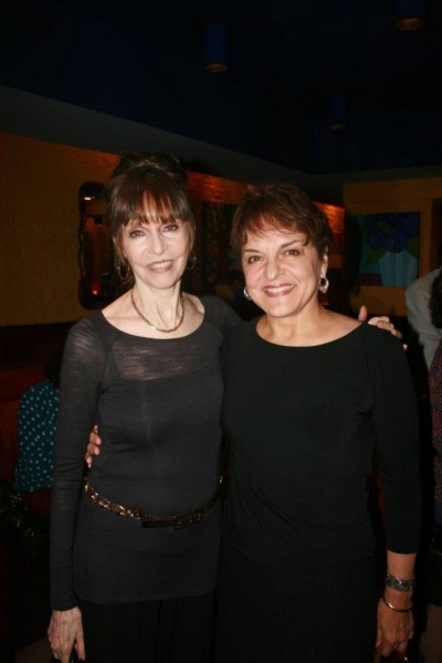 Barbara Feldon and Priscilla Lopez