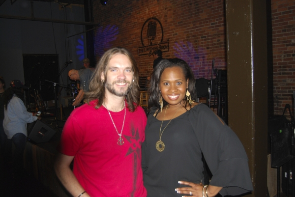 Bo Bice (''American Idol'') and Adrianna Freeman at The Listening Room Photo