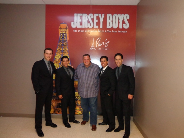 Rob Marnell, Deven May, Billy Gardell, Graham Fenton, Jeff Leibow Photo