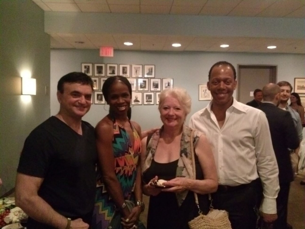Broadway dancer/choreographer Lawrence Leritz, former NYCB dancer Andrea Long-Naidu, former NYCB soloist Carol Sumner and Dance Theatre of Harlem''s choreographer Robert Garland.