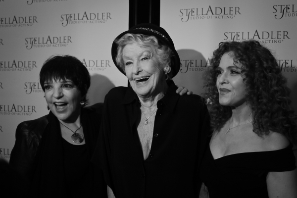Liza Minnelli, Elaine Stritch and Bernadette Peters
