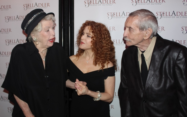 Elaine Stritch, Bernadette Peters and Edward Albee