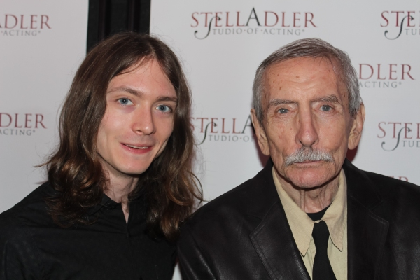 Edward Albee and guest
