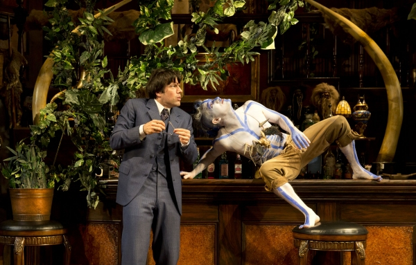 Lorenzo Pisoni as Lucius Fretway and Carson Elrod as Luigi