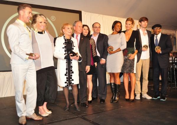 Alan Cumming, Sheila Nevins, Barbara Walters, Mayor Bloomberg, Katherine Oliver, Harv Photo