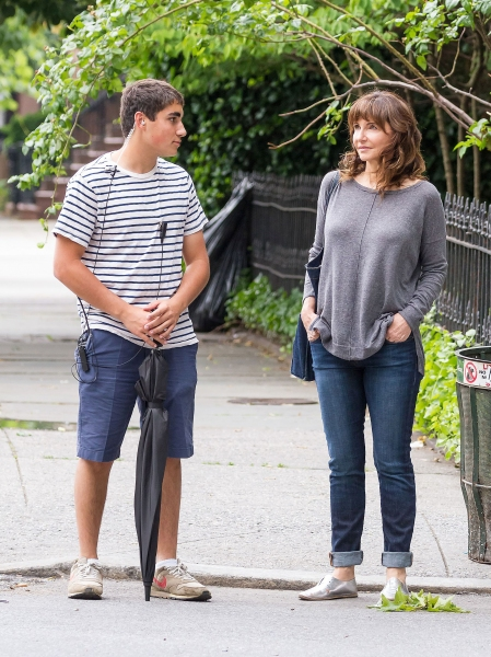 Mandatory Credit: Photo by MediaPunch Inc / Rex USA (1330143f)Mary Steenburgen''Song One'' on set filming, New York, America - 11 Jun 2013