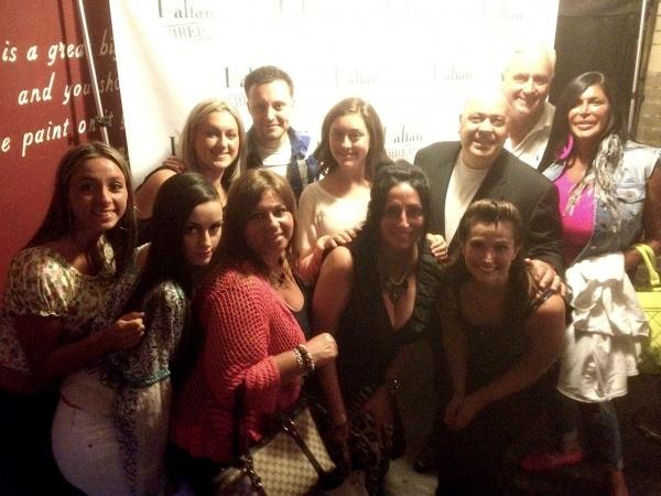 Janine Detore, Dominick Detore, Big Ang, Candice Guardino and Detore Family