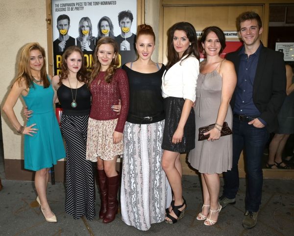 Photo Coverage: REASON TO BE HAPPY'S Opening Night Theatre Arrivals!
