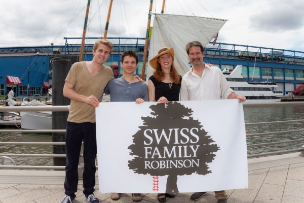 Sergio Pasquariello, Matt Mundy, Elisa Van Duyne and Paul DeBoy Photo