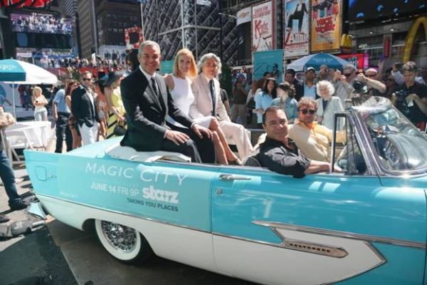 Photo Flash: Starz Brings Miami Beach to Times Square with MAGIC CITY Event