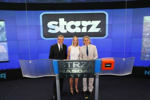 Wednesday, June 12th, cast of the STARZ Original series, ''Magic City,'' Danny Huston, Kelly Lynch and show creator Mitch Glazer, rang the NASDAQ Opening Bell in honor of the June 14th season-two premiere.