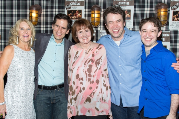 Judy Dove, Seth Rudetsky, Mary J. Davis, James Wesley, Joey Monda
