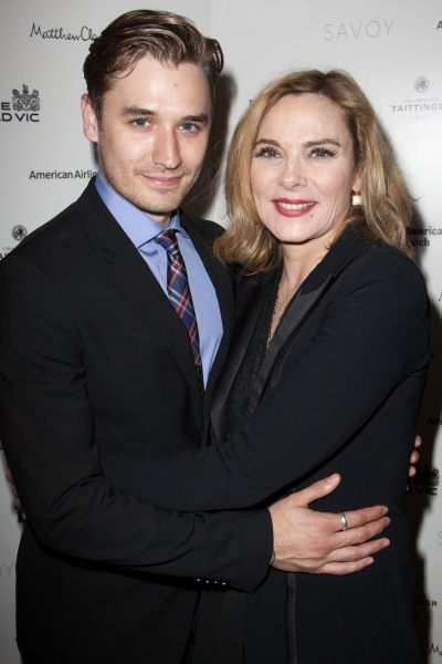 Seth Numrich (Chance Wayne) and Kim Cattrall (Alexandra Del Lago)''Sweet Bird of Youth'' play after party at the Savoy Hotel, London, Britain - 12 Jun 2013