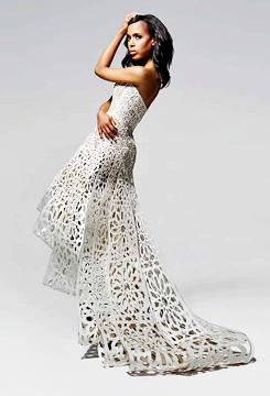 Kerry Washington Shines In Emmy Photo Shoot